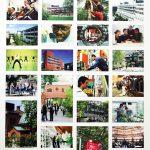 Dieses Plakat von 2004 zeigt die Vielfalt der Uni Kassel. Erkennen Sie alle Standorte?